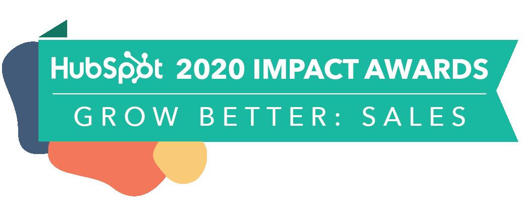 HubSpot Impact Awards 2020 Sales